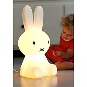 lampe miffy veilleuse lapin mr maria led wam la boutique