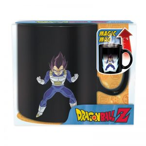 tasse thermoreactive dragon ball z vegeta à metz chez wam la boutique