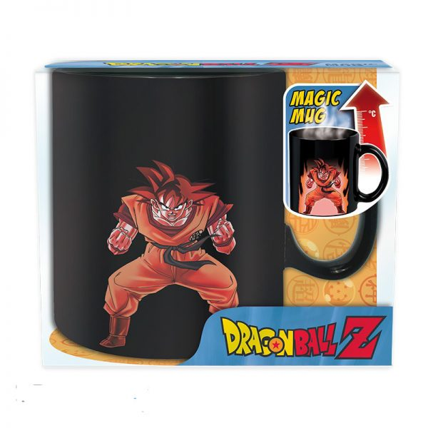 mug dragon ball z thermoreactife son goku wam la boutique metz