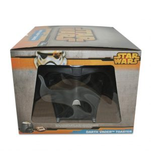 grille pain star wars casque de dark vador