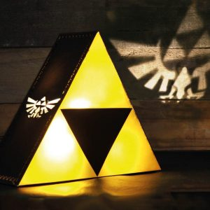 lampe de chevet zelda triforce