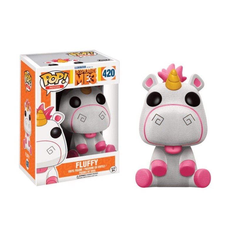 figurine POP licorne fluffy