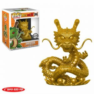 figurine de shenron version gold dans le manga dragonball z