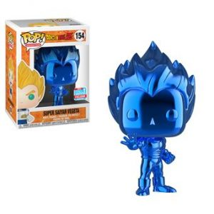 vegeta pop blue chrome comic con